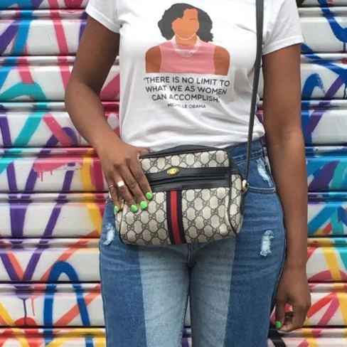 Hope-Morgan-love-wall-vintage-gucci-bag